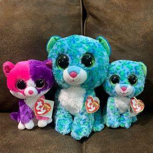TY Beanie Baby set of Three